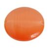 Cat's Eye Bead 16mm Round Orange